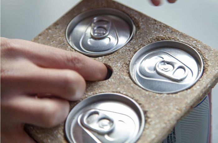 Bioanillos para latas de cerveza