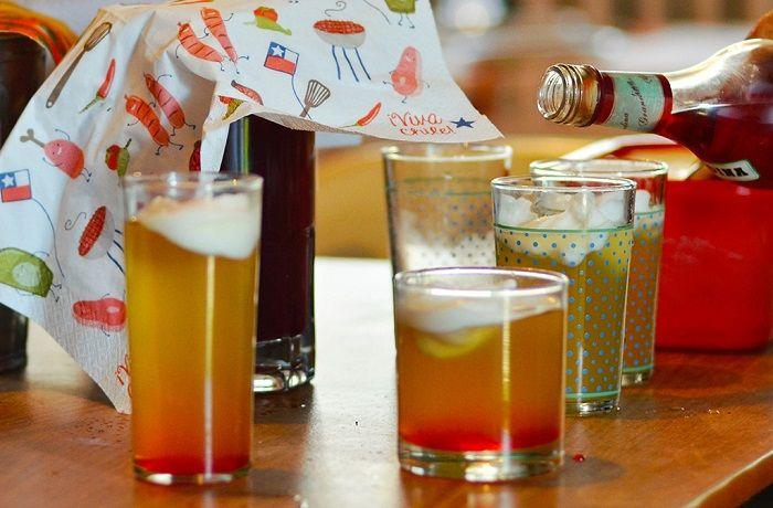 Bebidas en Fiestas Patrias