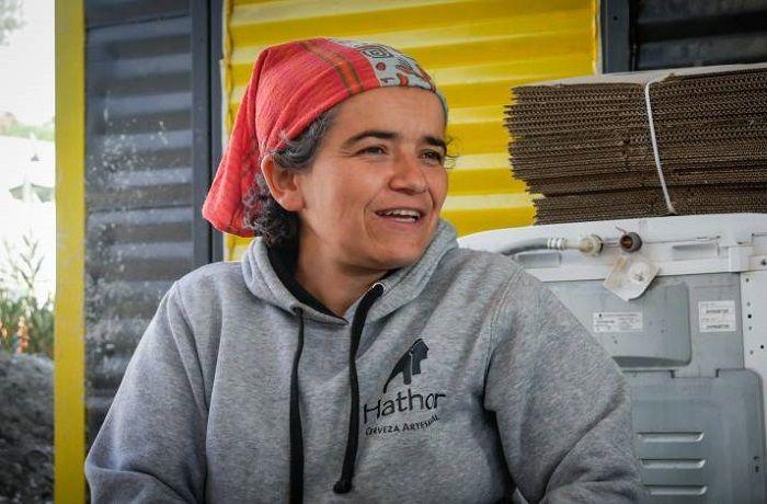 Marcela Jiménez, dueña de cervecería Hathor