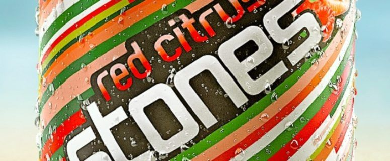 Red Citrus Stones