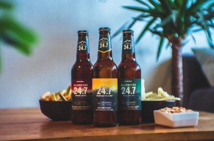 Cerveza 24,7 en botella