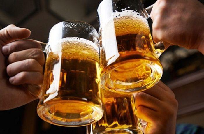Brindis-cerveza