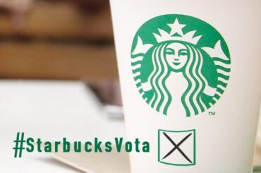 Starbucks Vota