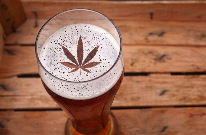 Cata y maridaje de cerveza y marihuana