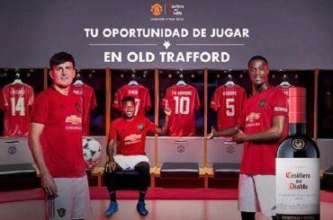 Casillero del Diablo y Manchester United