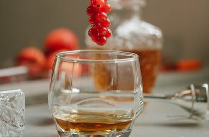Maridaje comida y whisky