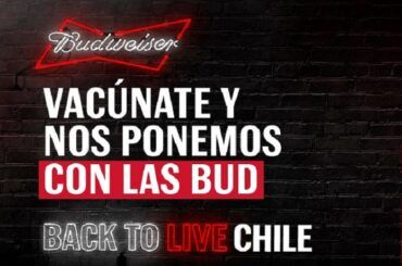 Budweiser Back to Live Chile